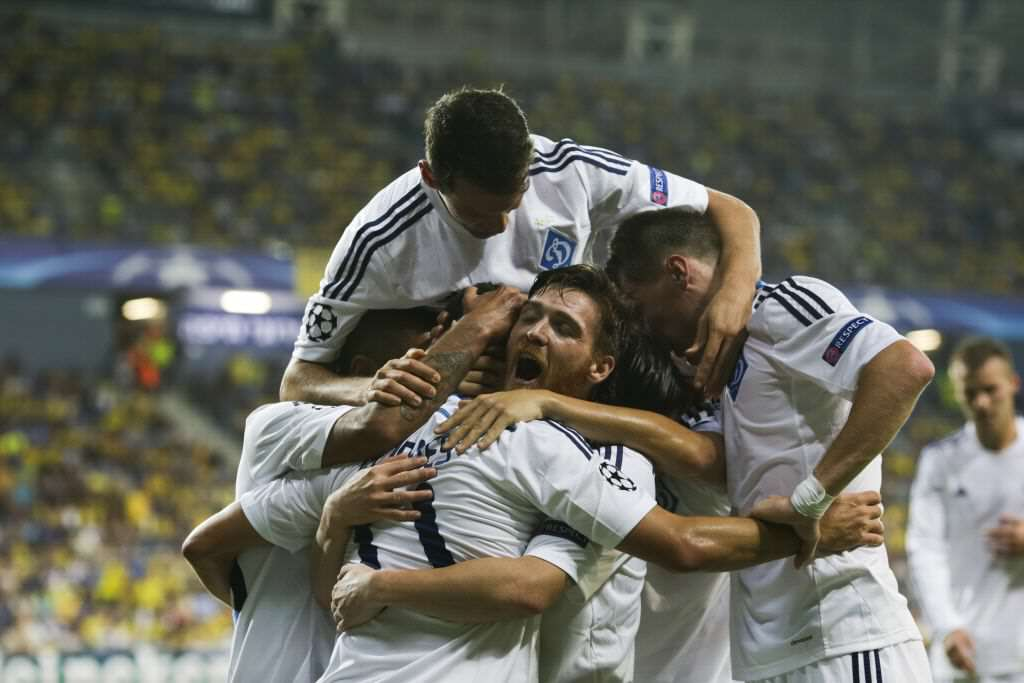 Kiev Celebration Three Dynamo Kiev Players Who Could Hurt Manchester City
