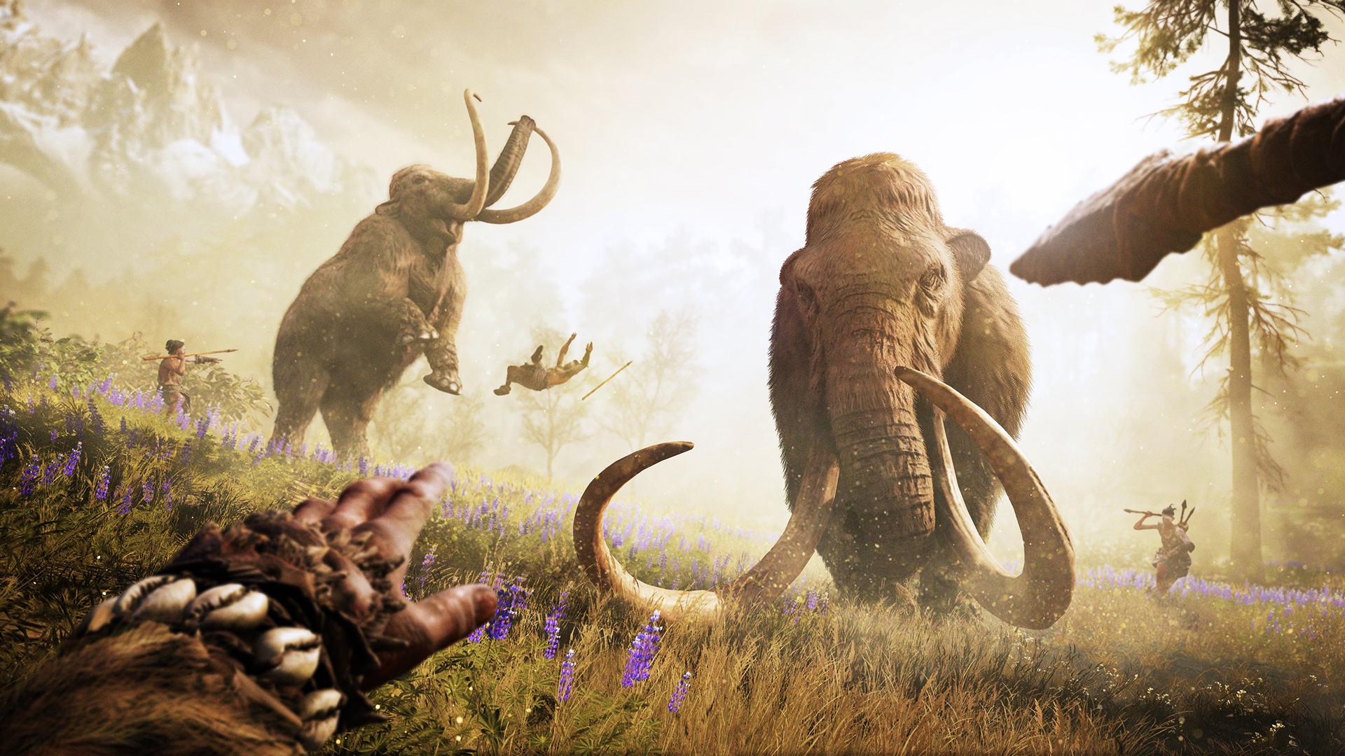 Mammoth Hunt GOLD 1080p 221522 Far Cry Primal Is Shameless Pre Historic Fun, If A Little Shallow