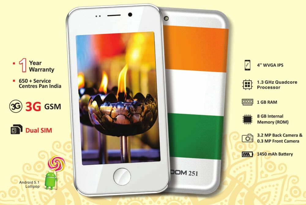 Worlds Cheapest Smartphone Launches For $4 Ringing Bells Freedom 2513