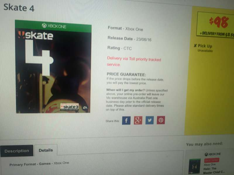 Skate Skate 4 Could Be A Reality As Leaked Image Surfaces