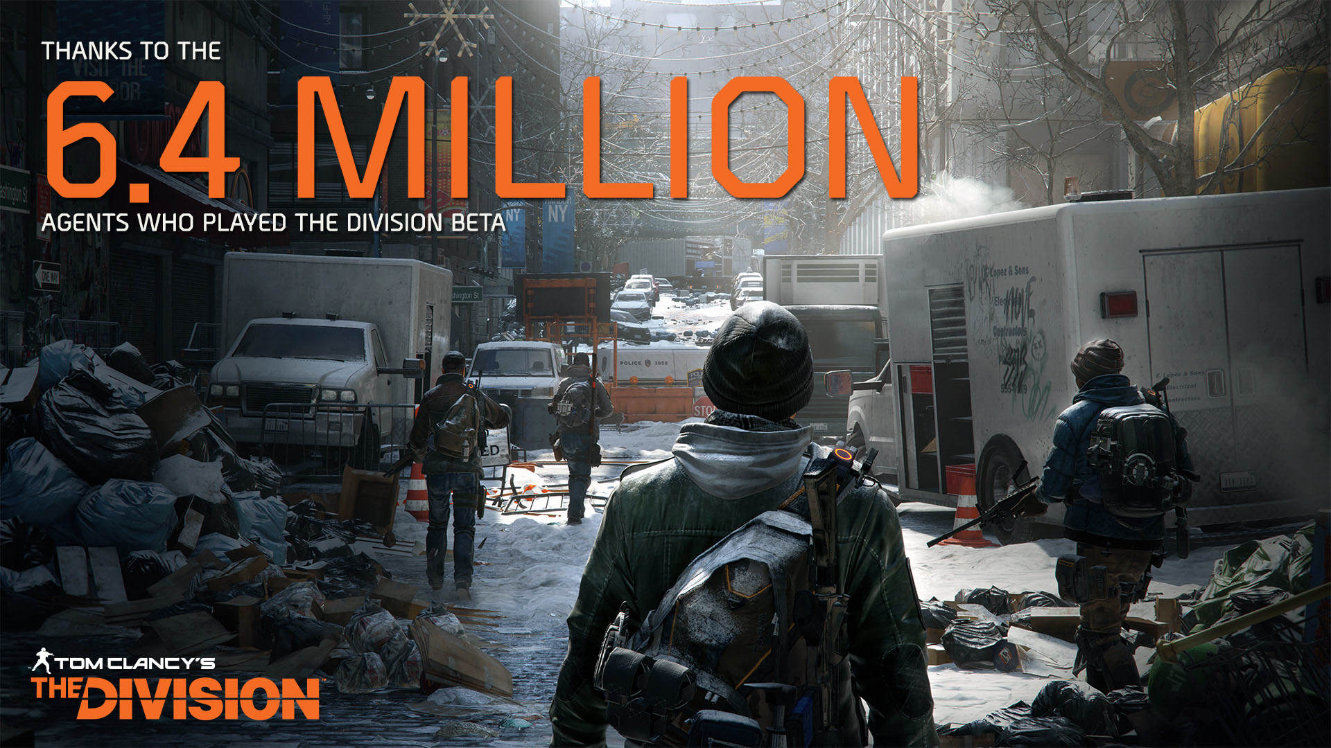 TCTD Beta Results 239629 The Division Breaks Beta Record With Over Six Million Players