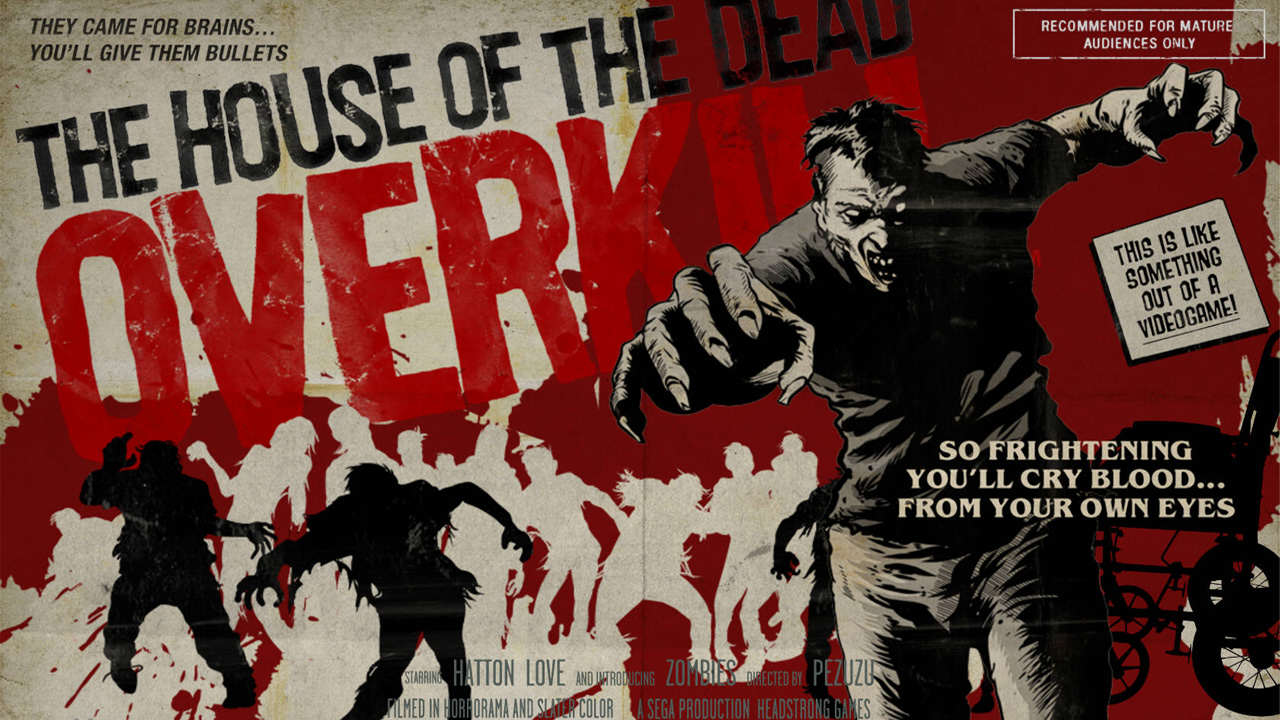 Ten Of The Greatest Zombie Games Ever Made The House of The Dead Overkill Nintendo Wii