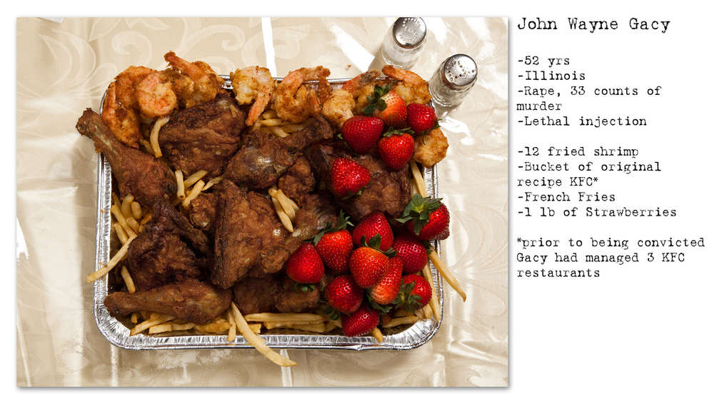 Photographer Recreates The Last Meals Of Infamous Death Row Prisoners enhanced buzz wide 2670 1392713658 27
