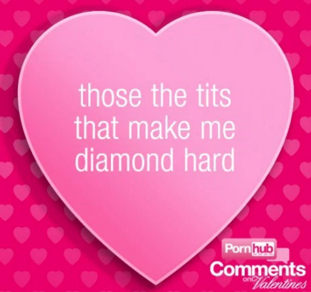These Valentines Day Cards Made With Pornhub Comments Are F*cking Hilarious f5ed735056c0736b1a915fbcc48900f9