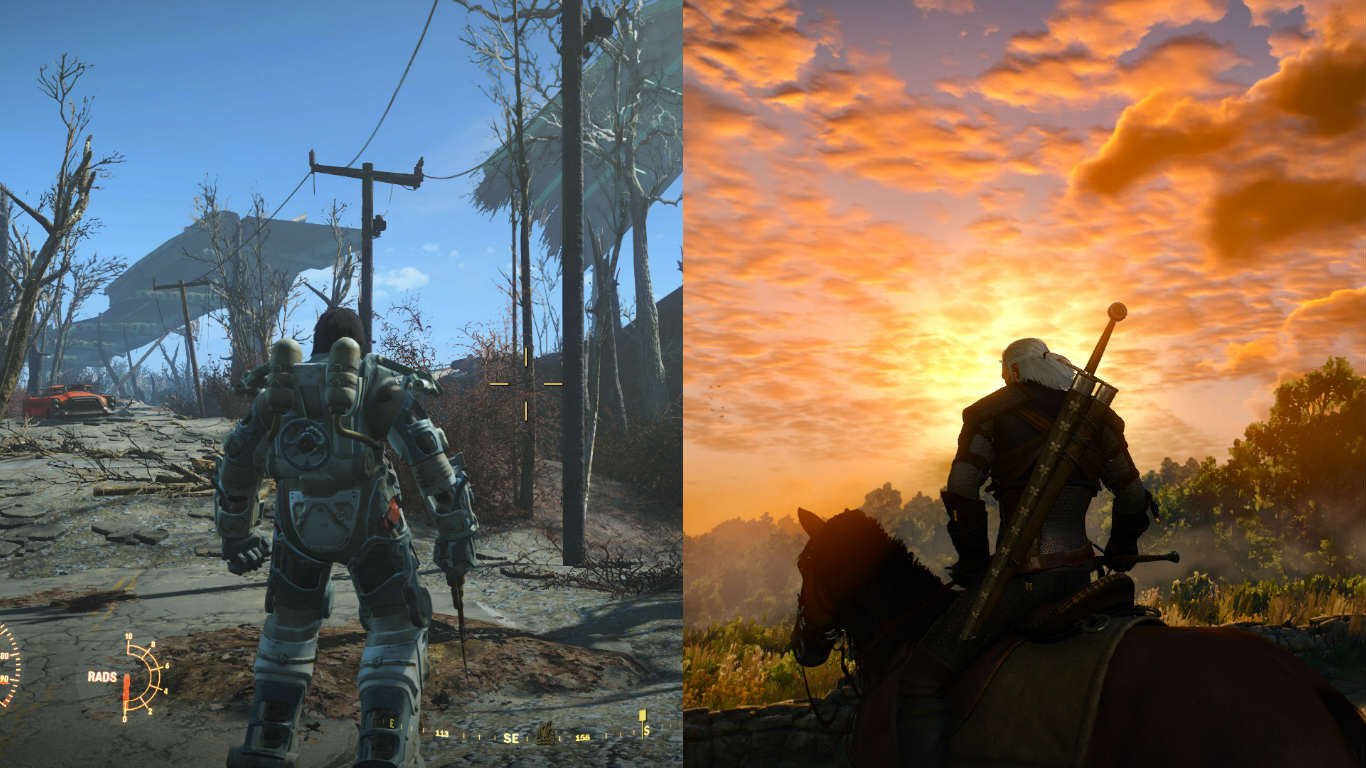 fallout 4 witcher 3 game of the year Awesome Fallout 4 Mod Brings In Gear From The Witcher 3
