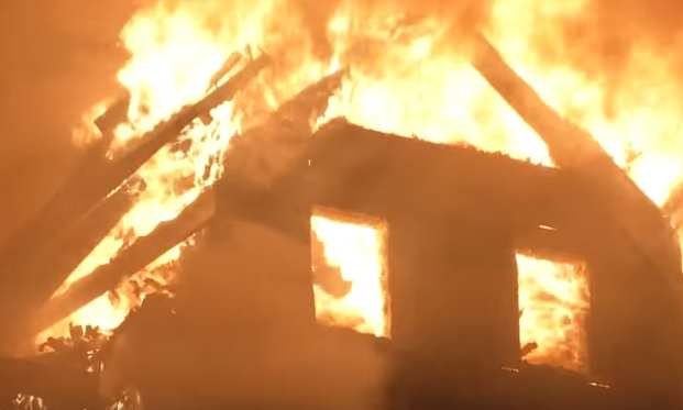 house fire 1 Brave Father Dies Rescuing His Infant Son From House Fire