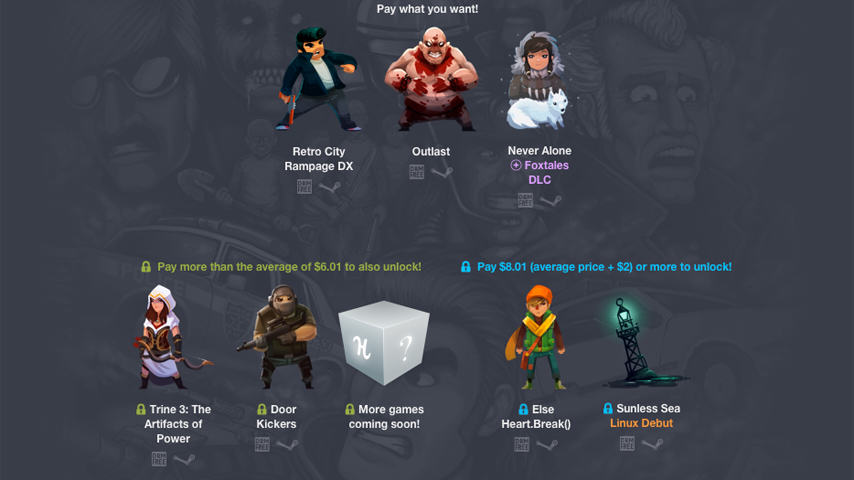 humble indie bundle 16 Get Great Indie Games In New Pay What You Want Humble Bundle