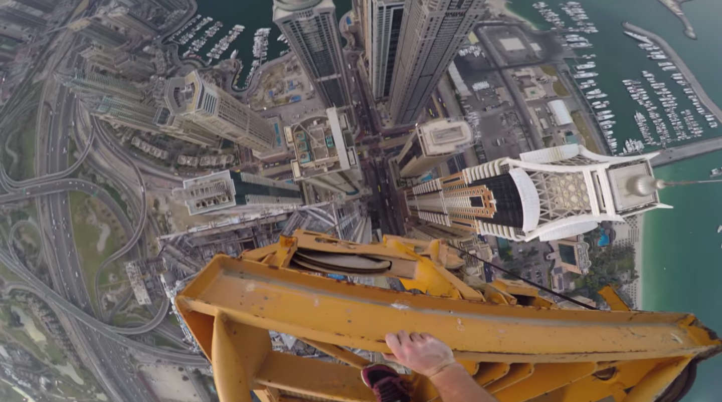 jamesss James Kingston Climbs The Worlds Tallest Residential Building