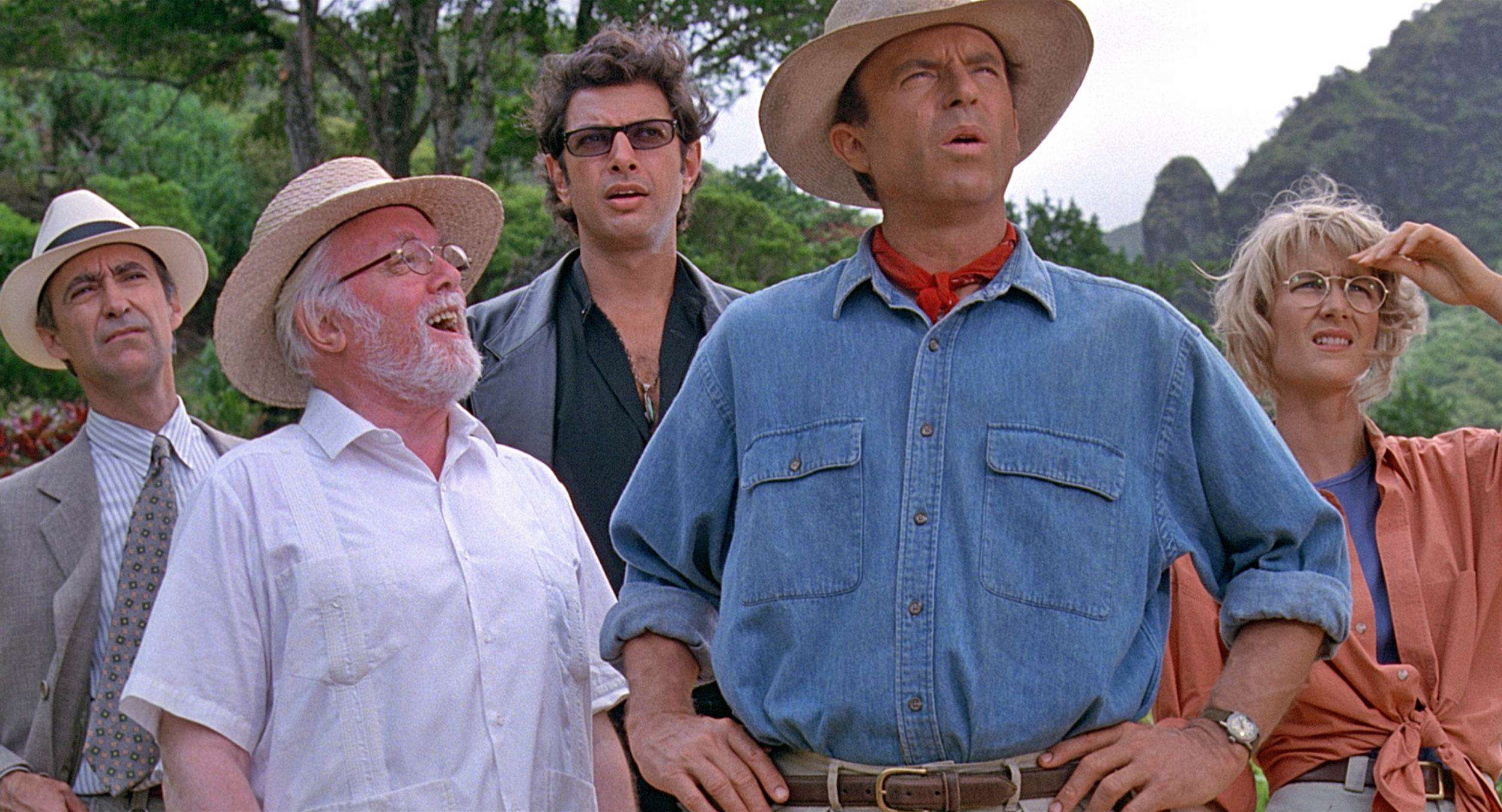 If Movies Cut To Credits When Someone Said The Title jurassic park