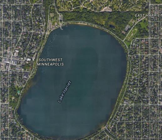 lake harriet1 Mystery Of Perfectly Intact Plane At Bottom Of Lake Solved
