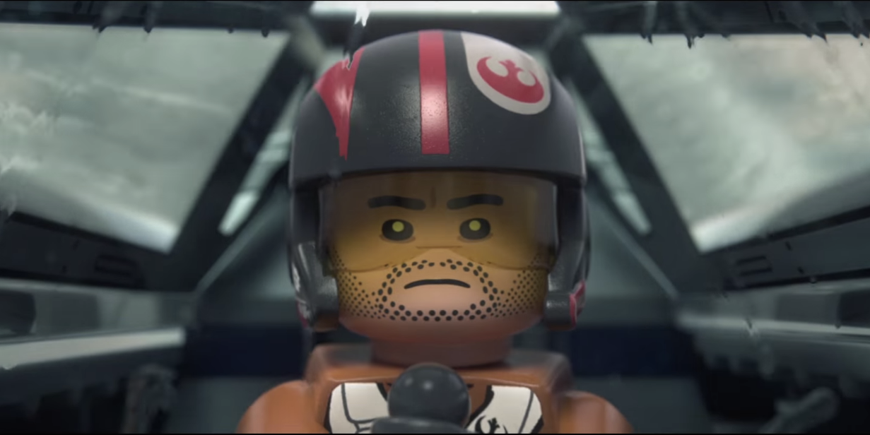 lego poe dameron LEGO Star Wars The Force Awakens Will Expand On Films Story