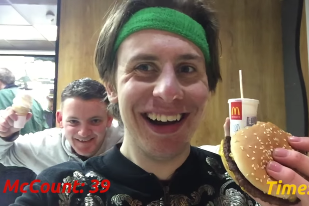 This Guy Tried To Eat At All Londons McDonalds In Just One Day macdonalds marathon 4