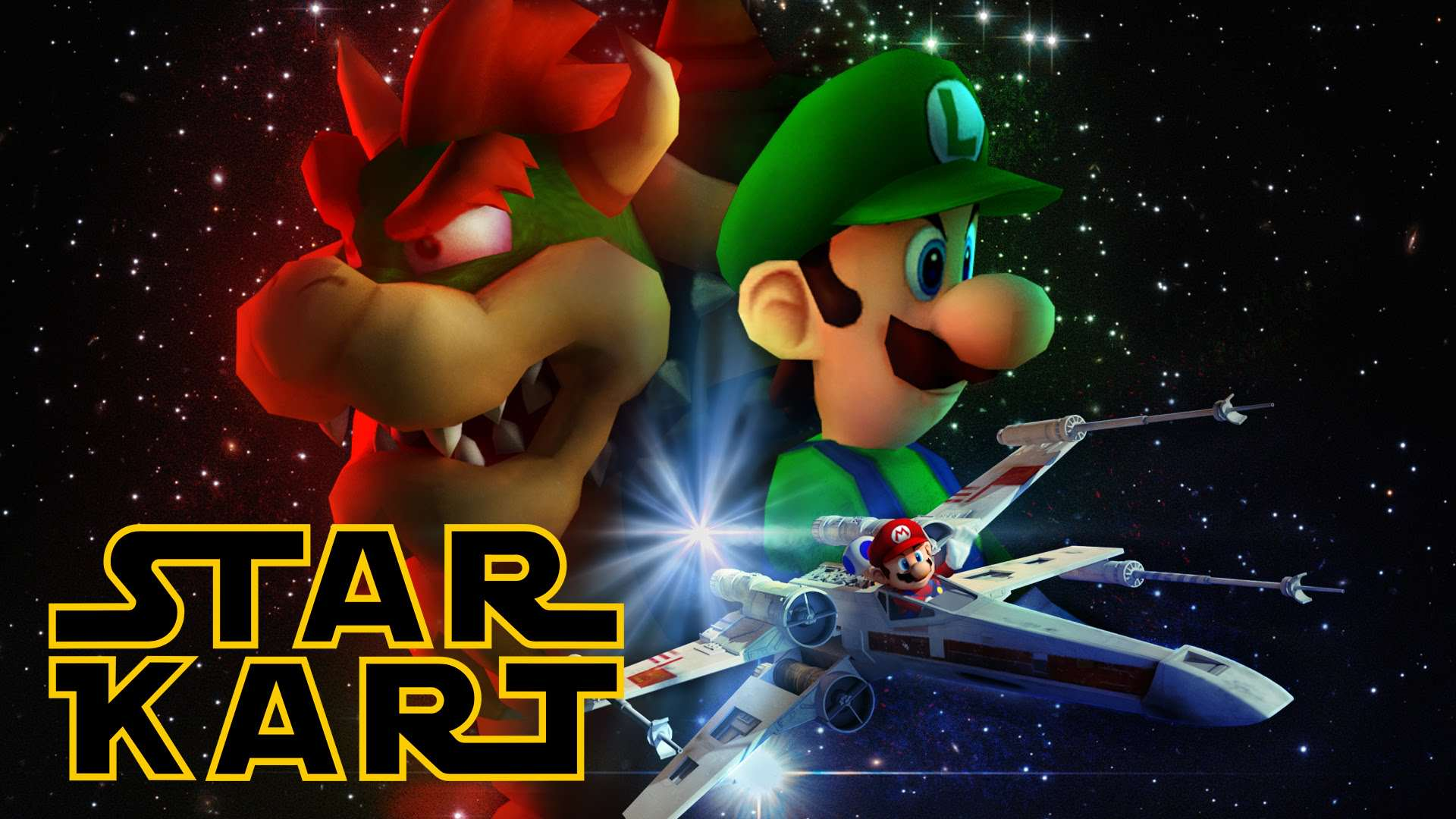 maxresdefault 20 Star Wars And Mario Kart Collide In This Amazing Video
