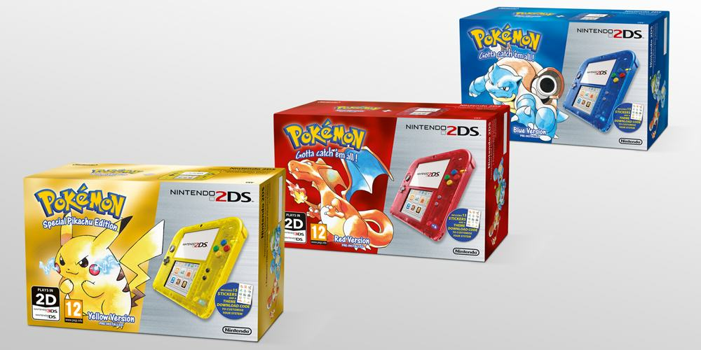 pokemon 2ds console Pokemon Re Release Gets New Nostalgia Fuelled Advert