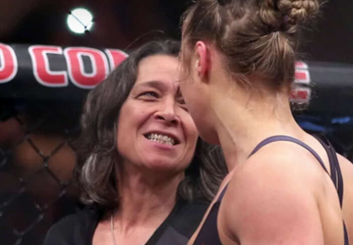 Ronda Rouseys Mother Has Some Strong Words About Her Daughters Coach rousey1 1