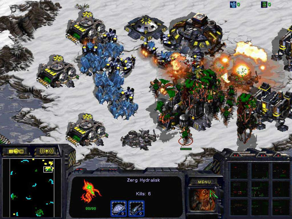 starcraft anthology screenshot 1 Five Of The Greatest Space Strategy Games