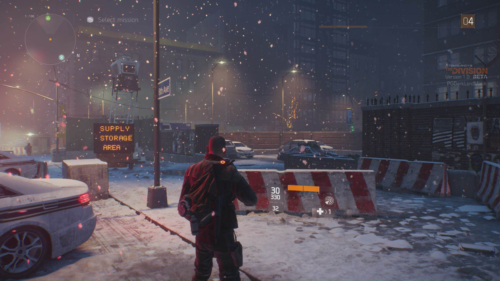 the division xbox one beta 20 The Division PC Beta Easy To Hack, Gets Extended 24 Hours