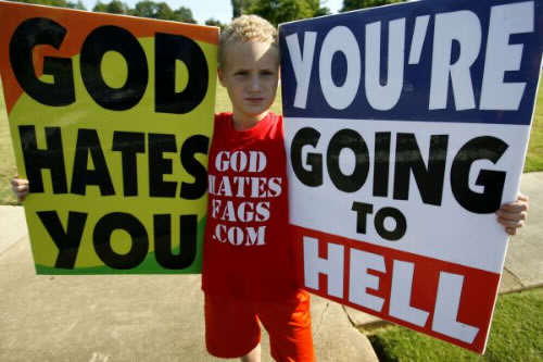 westboro baptist church Living According To The Bible, Part 2: No Sex And No False Idols