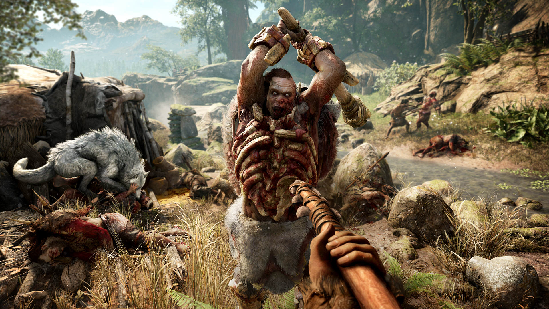 Far Cry Primal Introducing Intense New Challenge In April 3007167 fcp 09 udam attack screenshots preview pr 160126 6pm cet 1453716692