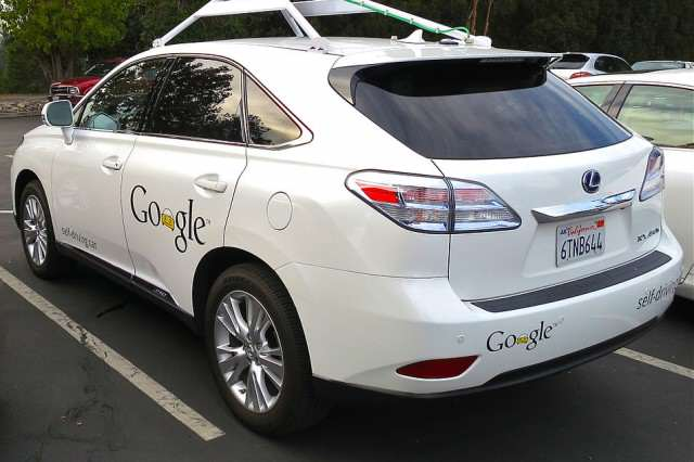 954px Googles Lexus RX 450h Self Driving Car 640x426 Heres How Much The Apple Car May Cost