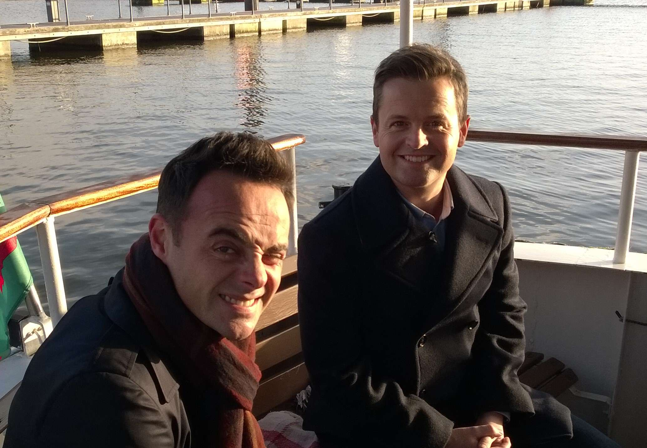 Ant and Dec in Cardiff Bay Ant And Decs Saturday Night Takeaway Gets A Lot Of Random Complaints