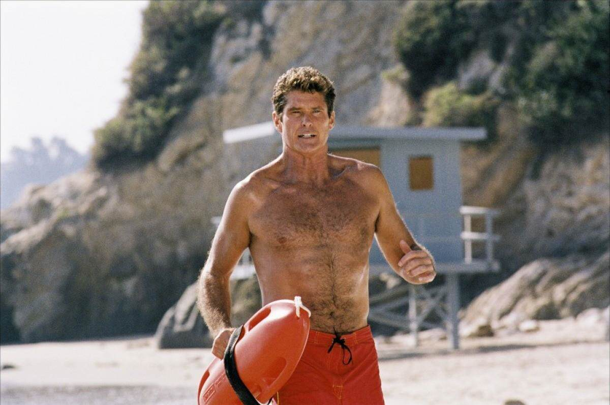 Baywatch The Hoff David Hasselhoffs Been Training With The Rock, And Its Paying Off