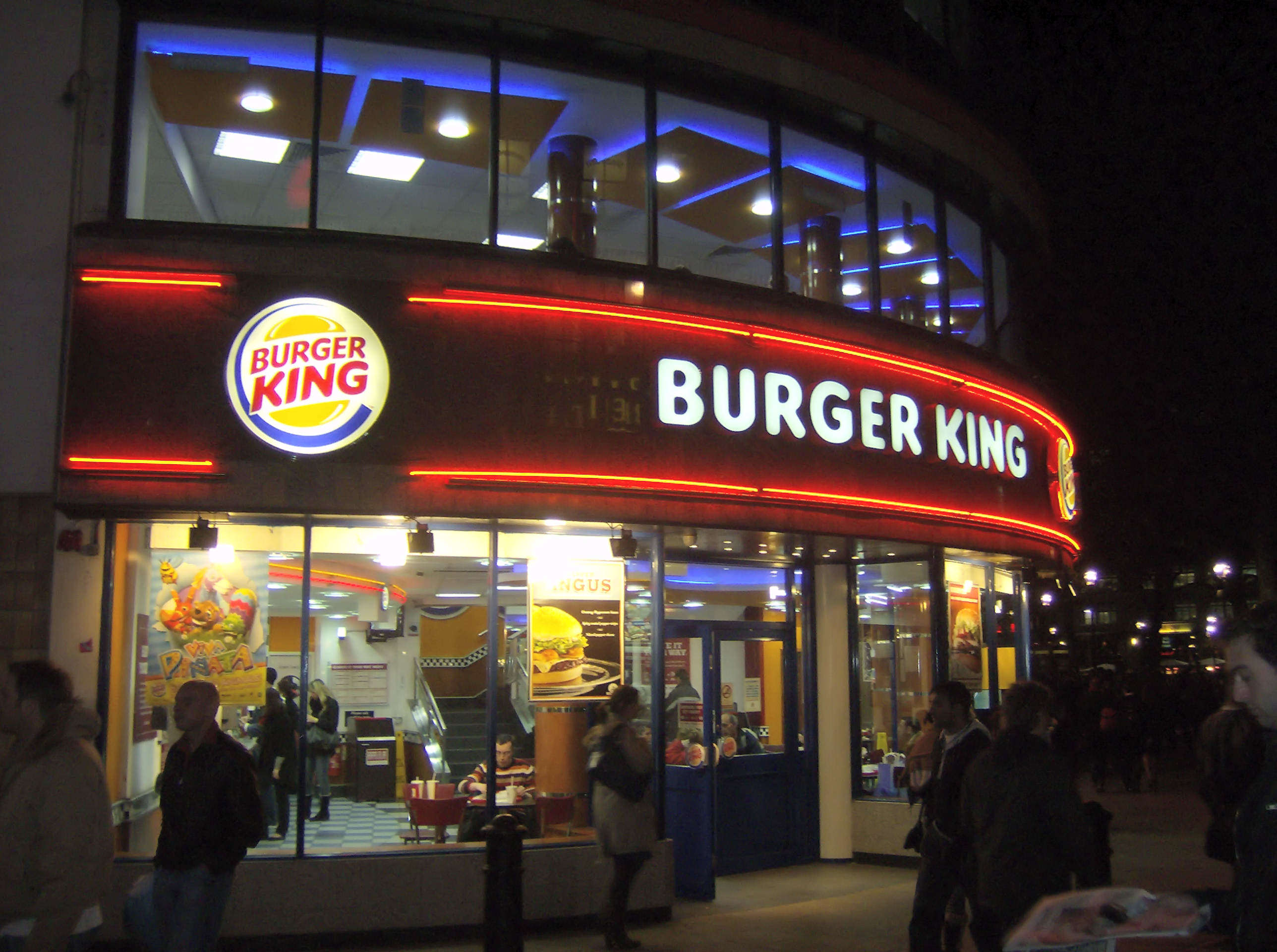 Burger King in London Burger King Given Permission To Start Selling Booze With Its Burgers