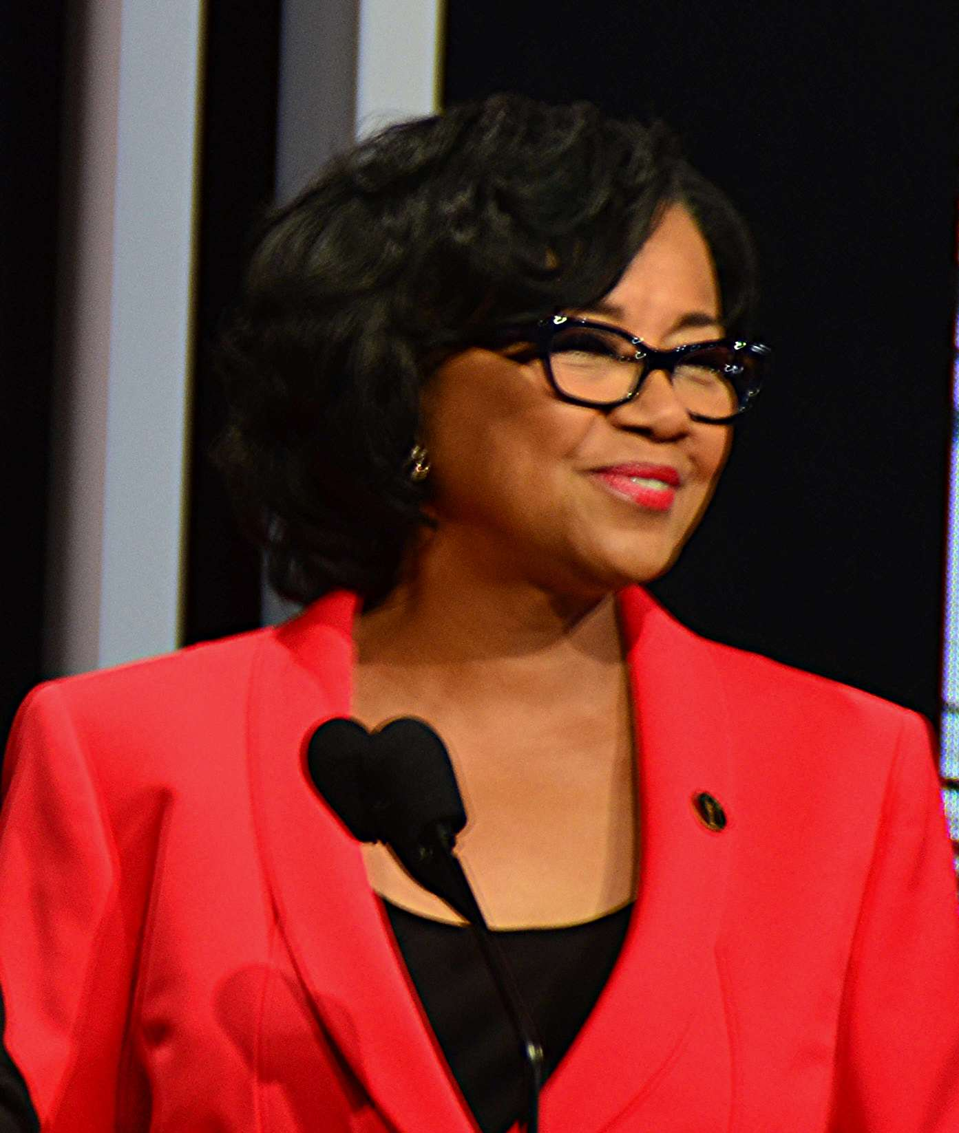 Cheryl Boone Isaacs 87th Oscars Nominations Announcement Prominent Asian Film Figures Send Open Letter To The Academy Protesting Racist Joke
