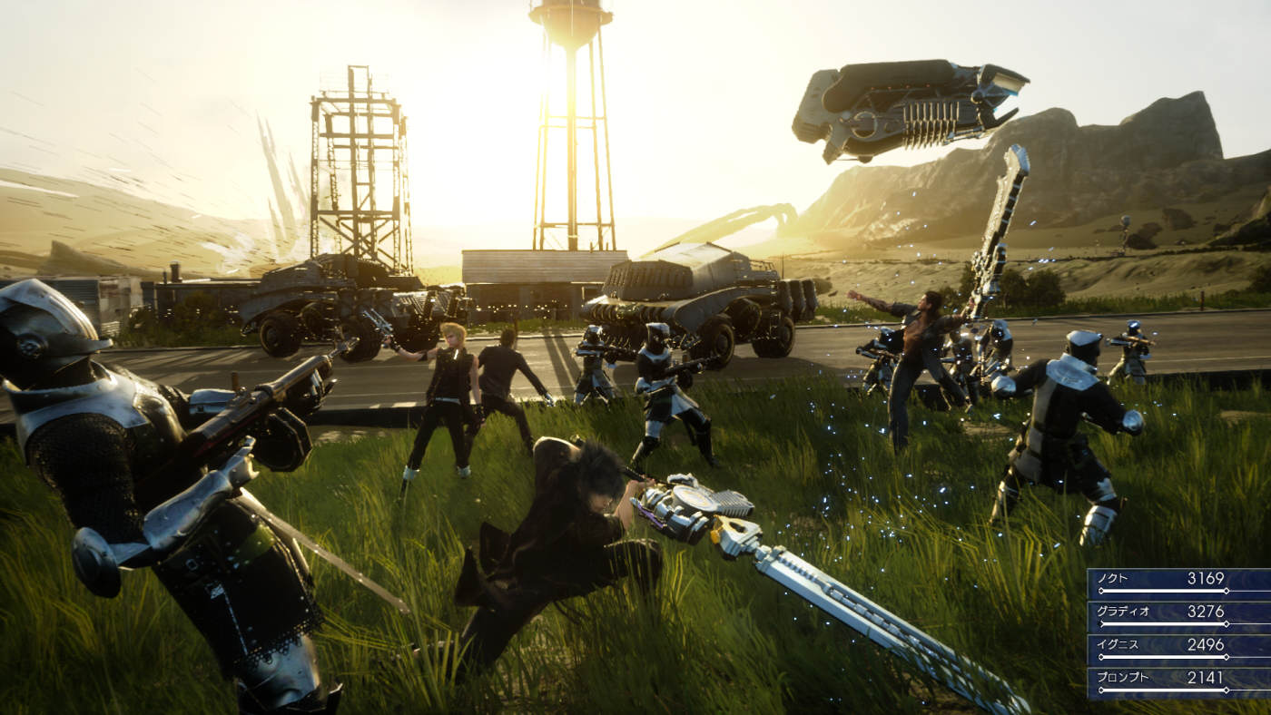 Final Fantasy 15 Gets Free Demo And Official Release Date FFXV Battles