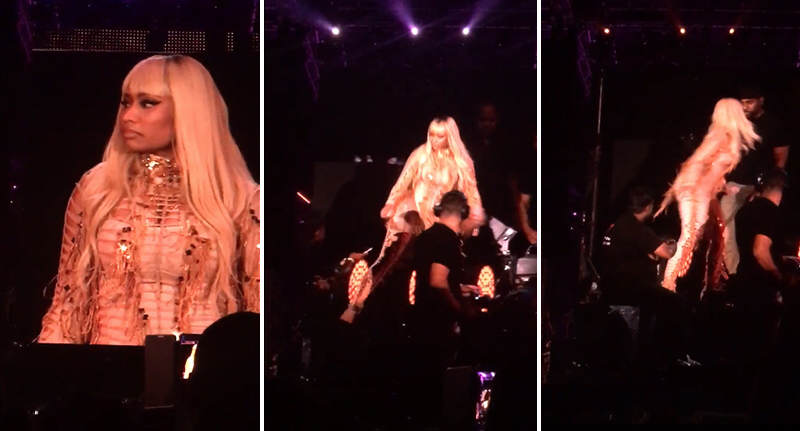 Nicki Minaj Goes Full Bad Bitch At Concert Security Guard FaceThumb Recovered 9