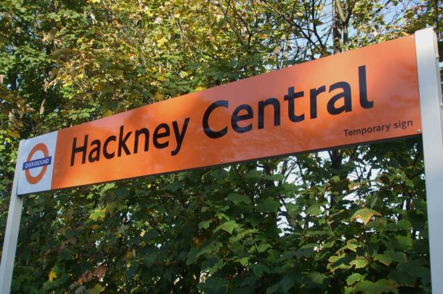 This Black IS Flag Could Be Stupidest Marketing Stunt Ever Hackney Central stn signage 640x426