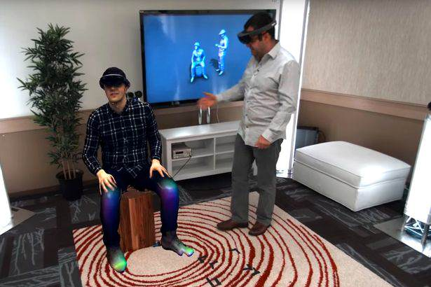 Microsoft demonstrate Holoportation with HoloLens technology Microsoft Has Made Star Wars Style Holographic Messages A Reality