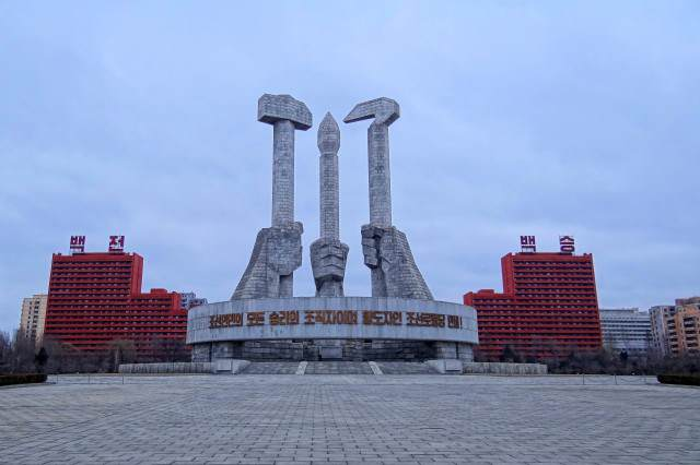 Party Foundation Monument 640x426 North Korean Teens Rip Into Kim Jong Un Online Using Illegal App