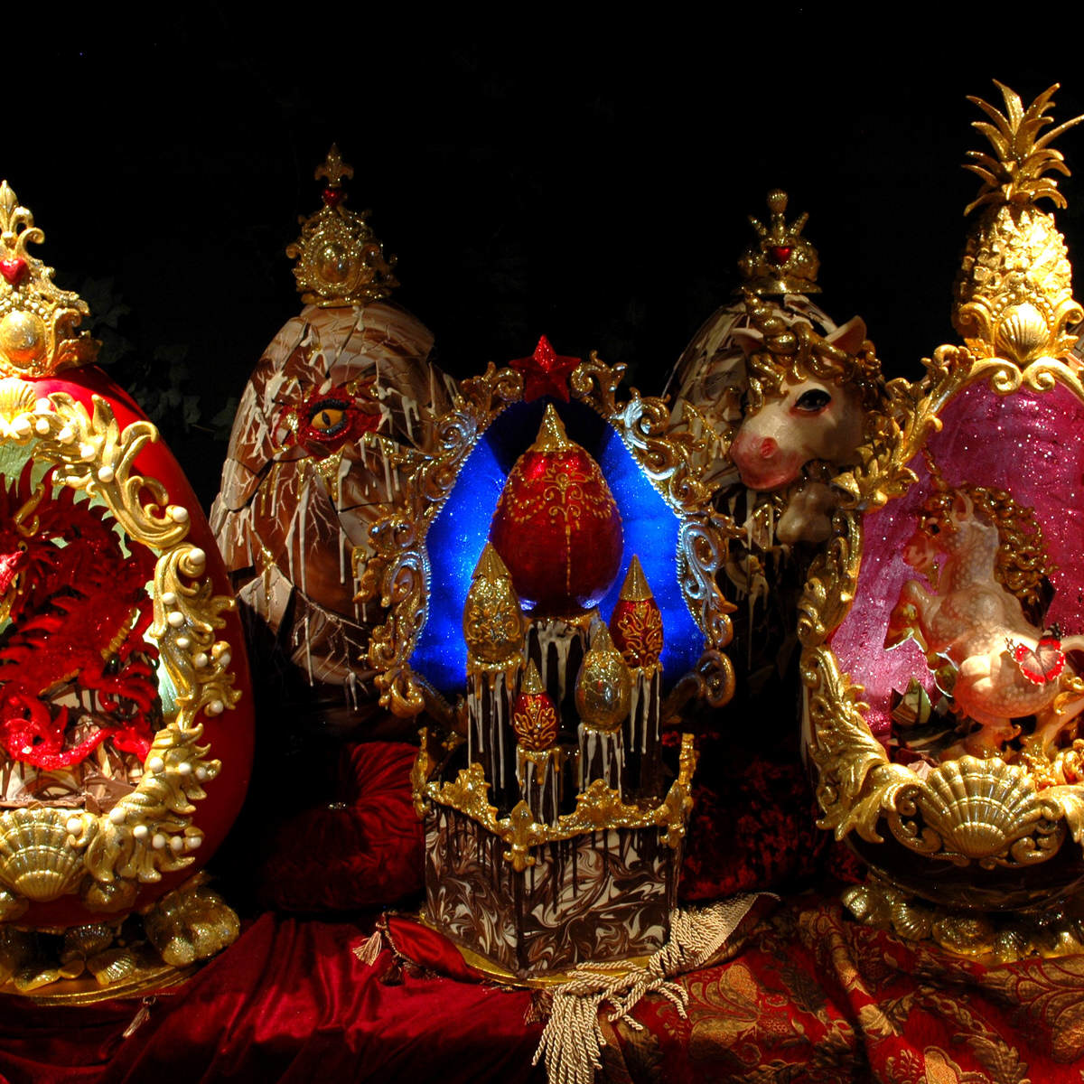 The Worlds Most Expensive Easter Eggs Are Absolutely Ridiculous SWNS FABERGE EASTER 08
