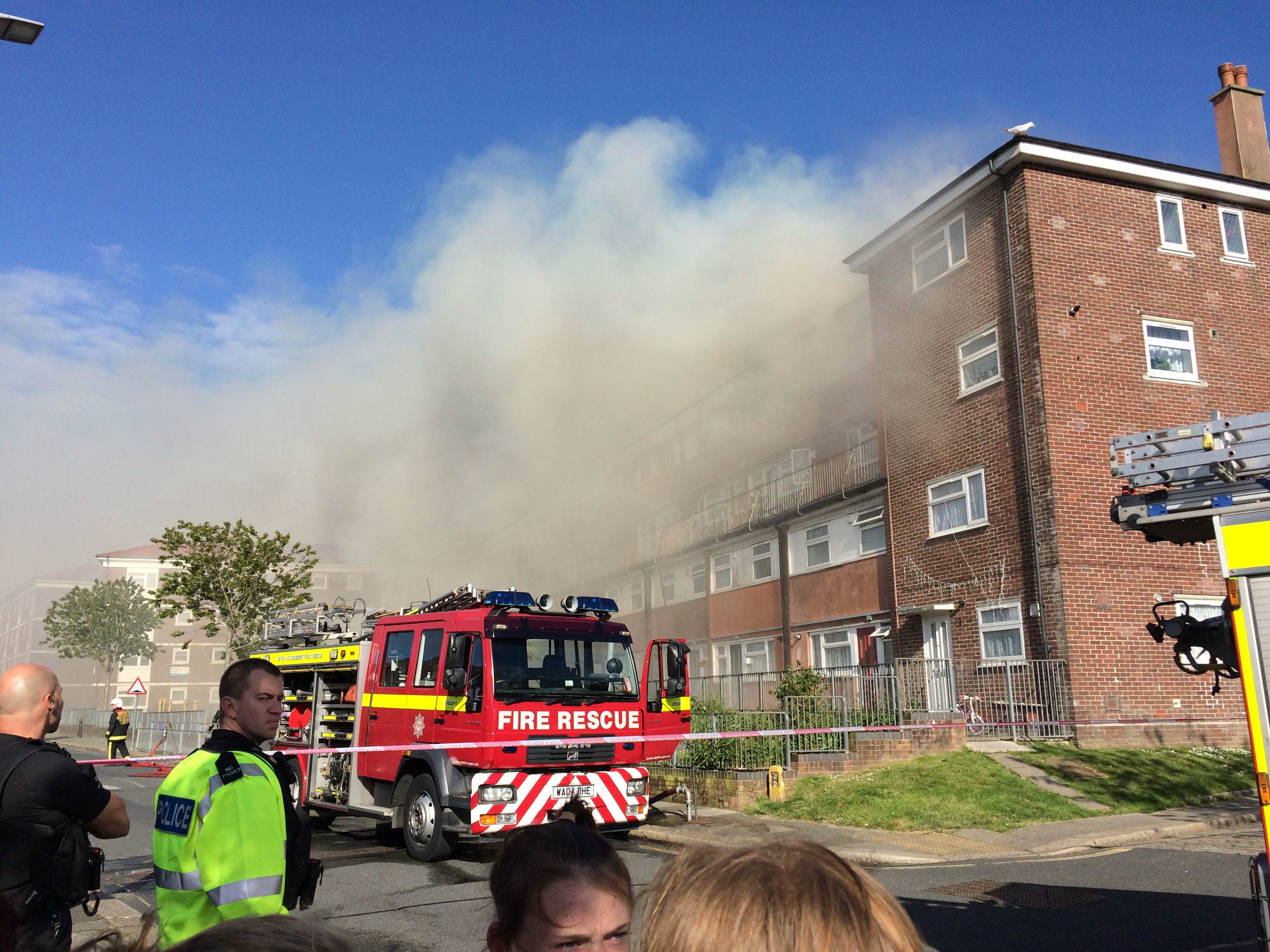 SWNS FLAT FIRE 03