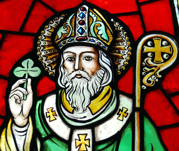 St Patrick Shamrock Image Heres 5 Badass Facts About St. Patrick You Probably Didnt Know