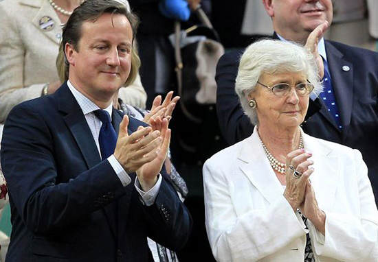 cameron web thumb 2 David Cameron Has Axed His Own Mums Job With Latest Tory Cuts