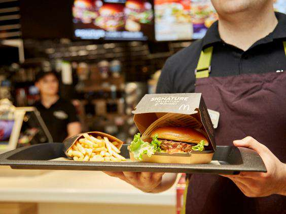 McDonald's Launches New Range Of Posh Burgers mcdonalds premium burger 2
