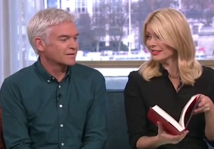 novel1 Holly Willoughby Makes Phillip Schofield Blush With Sexual Innuendos