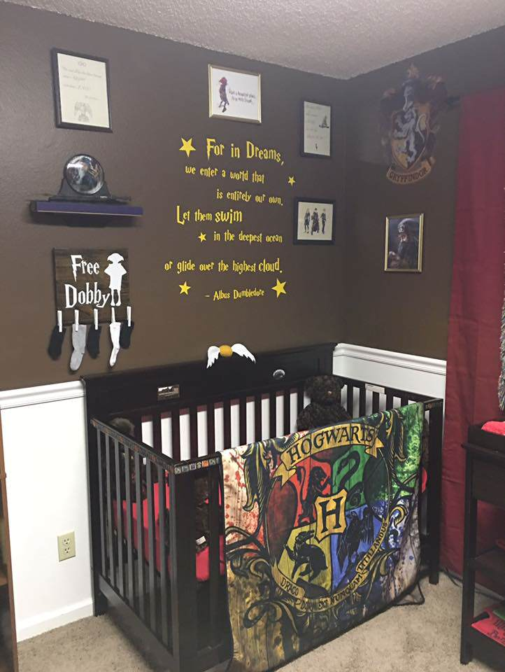 Parents Make Harry Potter Themed Nursery For Their Kid And Its Awesome potter2