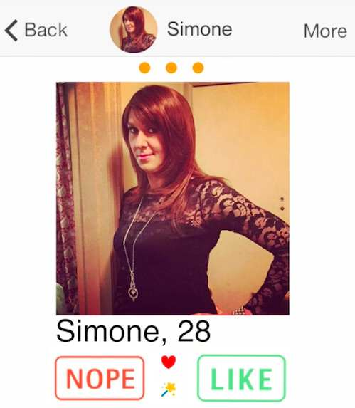 Man Dresses Up As Woman On Dating App To See If He Gets More Matches simone1