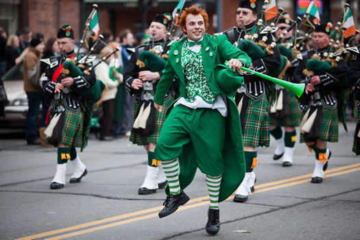 st patricks parade 2010 leprechaun Heres 5 Badass Facts About St. Patrick You Probably Didnt Know