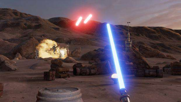 star wars trials of tatooine virtual reality htc vive vr lightsaber 1021x580 Theres A Star Wars VR Game Coming, And It Looks Incredible