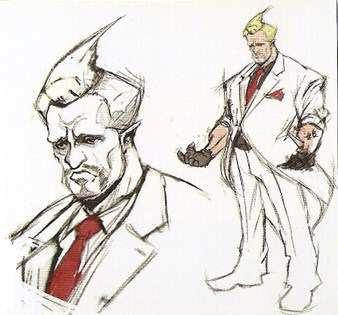 street fighter v business man Early Street Fighter V Designs Show Some Pretty Weird Fighters
