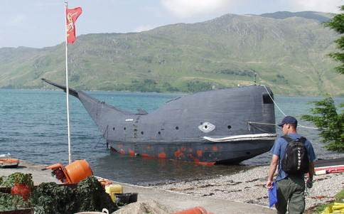 This Ex SAS Soldier Is Going To Cross The Atlantic Ocean In A Whale tom