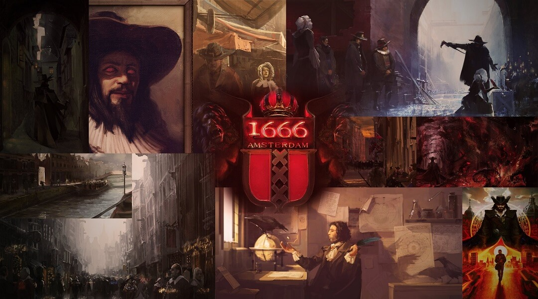 Ubisoft Returns Rights For 1666: Amsterdam To Creator 1666 amsterdam concept art
