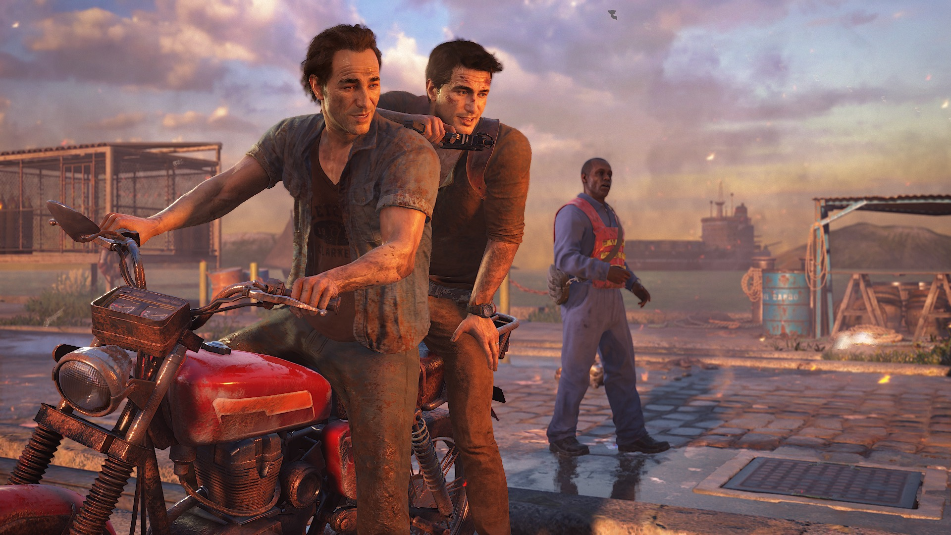 2886491 uncharted 4 drake sam survived Uncharted 4 Apparently Had A Massive Set Piece Cut