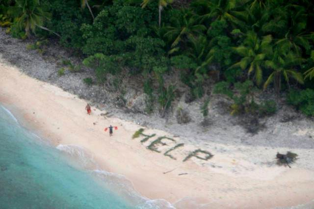 5006fcea0771465588b342b8be2a4904 640x426 Castaways Rescued From Desert Island After Copying A Movie