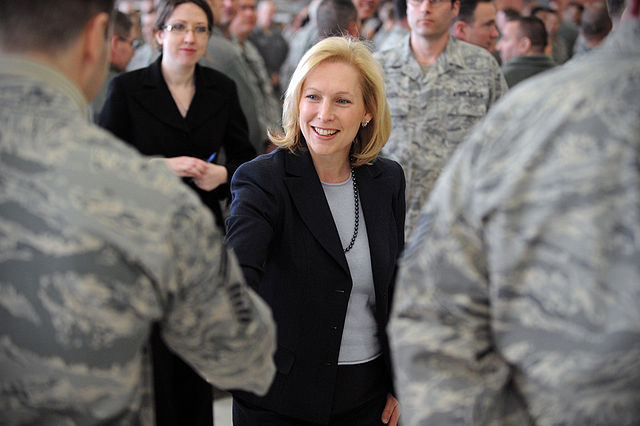 Obama Could Release Controversial Top Secret 9/11 Document 640px Kirsten Gillibrand meets rescue wing