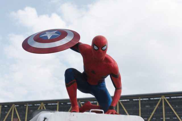 Captain America Civil War Spider Man Shield Official 640x426 Our Spoiler Free Review Of Captain America: Civil War